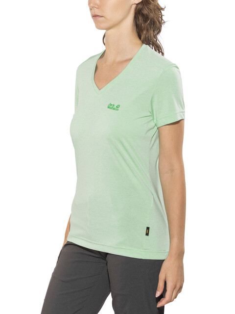 Jack Wolfskin Crosstrail T-Shirt Women pale mint